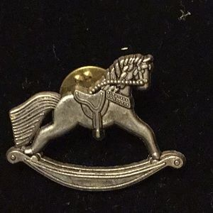 Hallmark 1998 Rocking Horse Pin Collector's Sweet